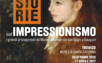 La storia dell'impressionismo dal 29 ottobre al 17 aprile 2017