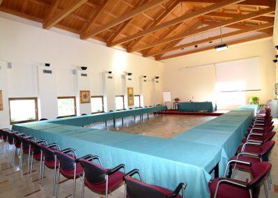 sala grande ferro di cavallo