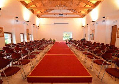 sala grande per sfilate